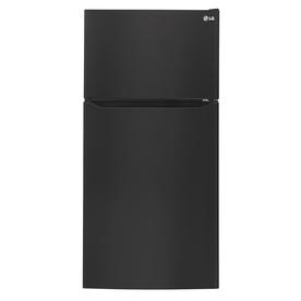 LG 23.8-Cu Ft Top-Freezer Refrigerator With Ice Maker (Sm...