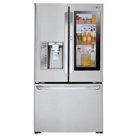 LG Instaview 23.5-Cu Ft Counter-Depth French Door Refrige...