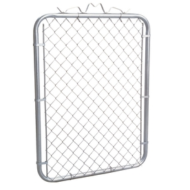 Shop 4 Ft X 3 Ft 6 In Uncoated Galvanized Steel Chain Link
