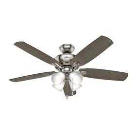 Display Product Reviews For Amberlin Led 52 In Brushed Nickel Indoor Ceiling Fan With