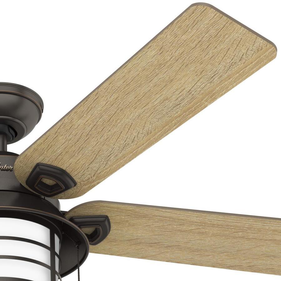 Satin Bronze Indoor Outdoor Ceiling Fan