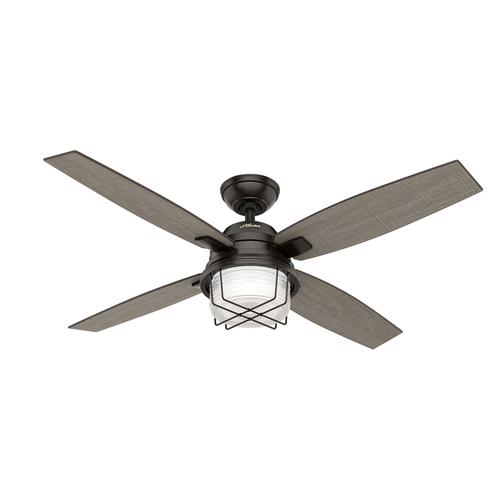 Hunter ivy creek 52 in noble bronze indooroutdoor ceiling fan with hunter ivy creek 52 in noble bronze indooroutdoor ceiling fan with light kit aloadofball Image collections