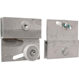 Prime-Line Products M 6054 Frameless Sliding Shower Door Top Bracket, 3/4 in., Flat Plastic Wheel, Steel Ball Bearings