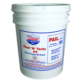 Lucas 35-Lb Red N Tacky Grease Pail 10027