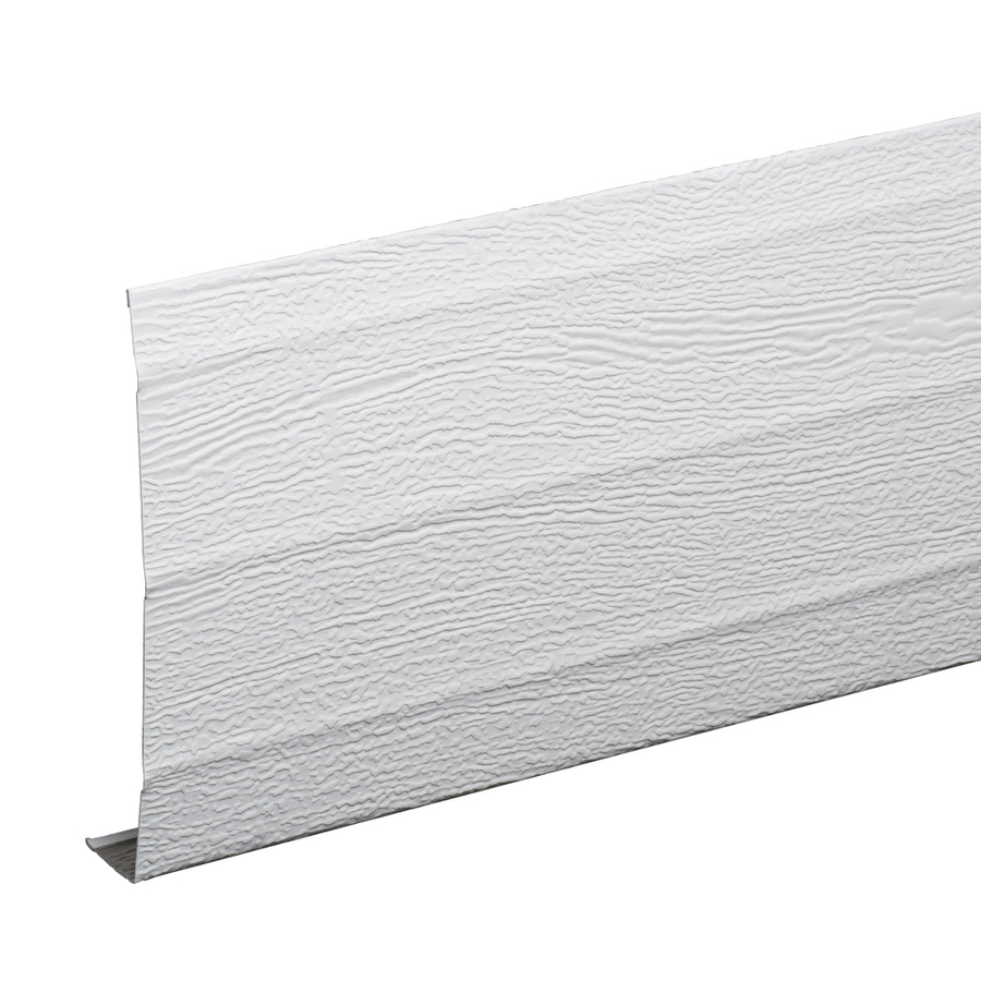 Shop Amerimax 6 In White Aluminum Fascia At Lowes Com