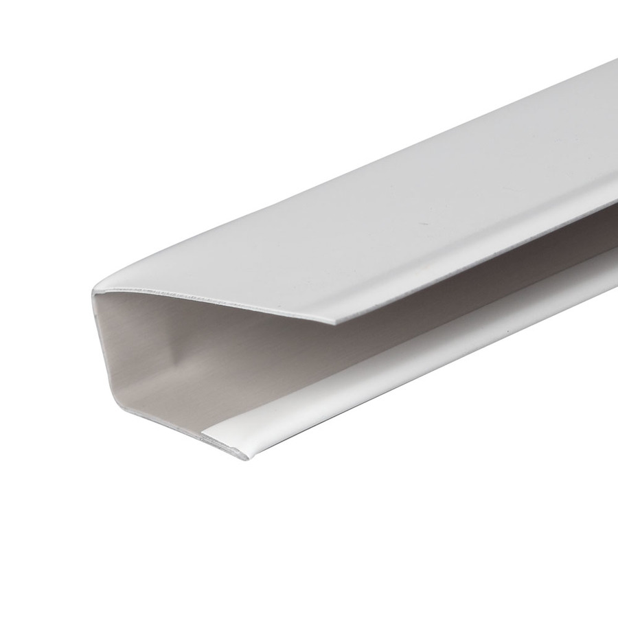 Shop Amerimax 12 Ft White Aluminum J Channel At Lowes Com