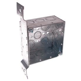 Shop Raco 30 3 Cu In 2 Gang Metal Square Wall Electrical