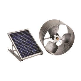 Master Flow 500-Cfm Silver Galvanized Steel Solar Power R...