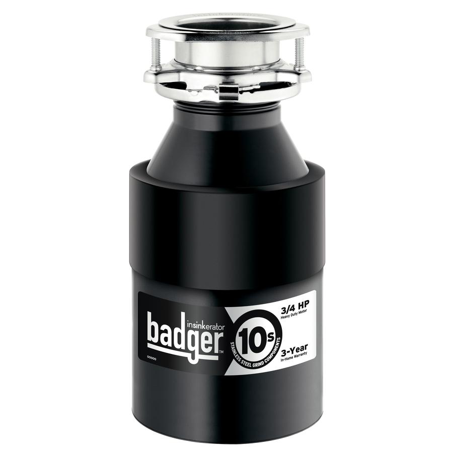Shop Insinkerator Badger 10s 3 4 Hp Garbage Disposal No At
