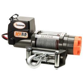 Keeper 1.2-Hp 3,500-Lb Universal Winch Ku35032