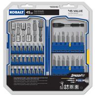 Kobalt 45-Piece Screwdriver Bit Set 89918 Deals