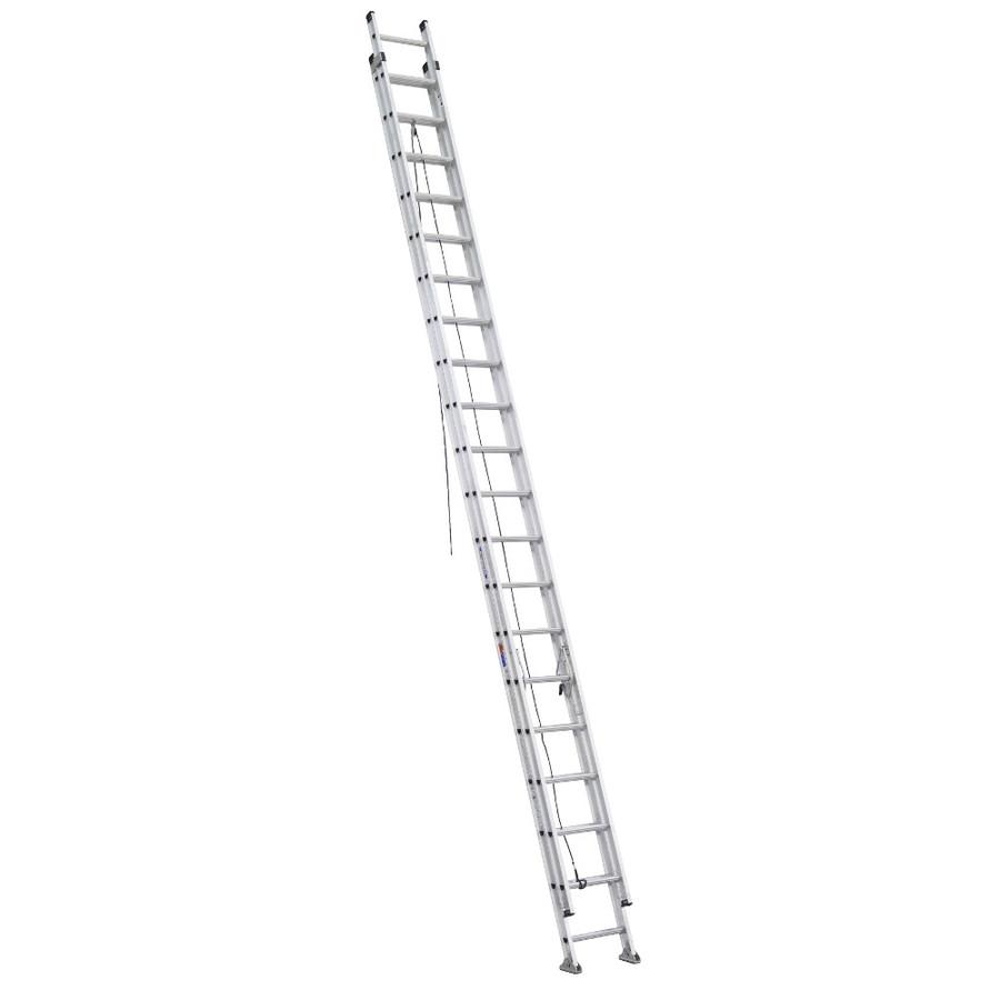 Shop Werner 40 Ft Aluminum 300 Lb Type Ia Extension Ladder
