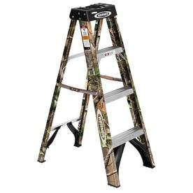 Werner camo step ladder