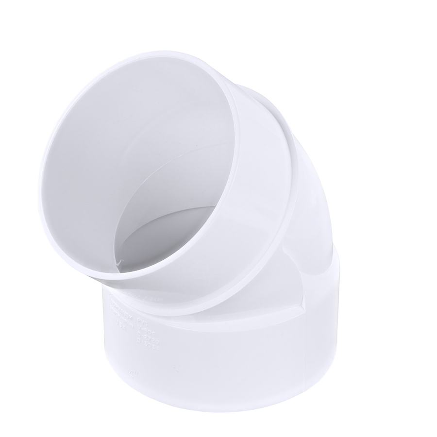 Shop 4 In Dia 45 Degree Pvc Street Elbow Fitting At Lowes Com