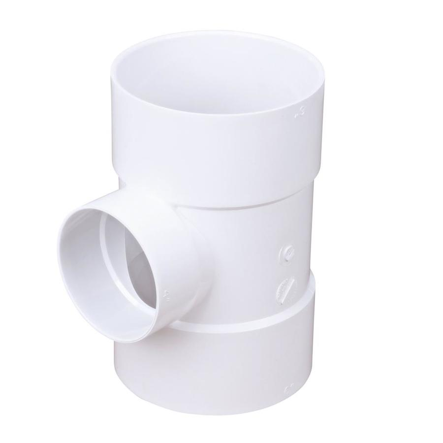 Shop 6 In X 4 In Dia Pvc Sanitary Tee Fitting At Lowes Com