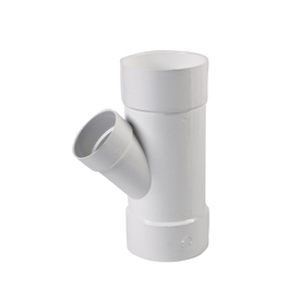 Shop 6 In X 4 In Dia 45 Degree Pvc Wye Fitting At Lowes Com