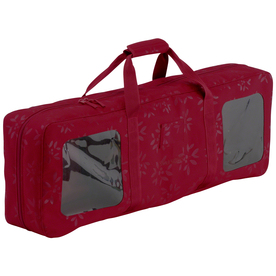 Classic Accessories 12-in W x 6-in H Red/Pink Polyester Ornament Storage Bag 57-006-014301-00