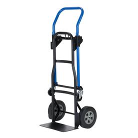 e95a7ba2386 Display product reviews for 600-lb 4-Wheel Blue Steel Convertible Hand Truck