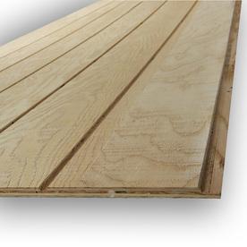 Shop Natural Wood Plywood Untreated Wood Siding Panel