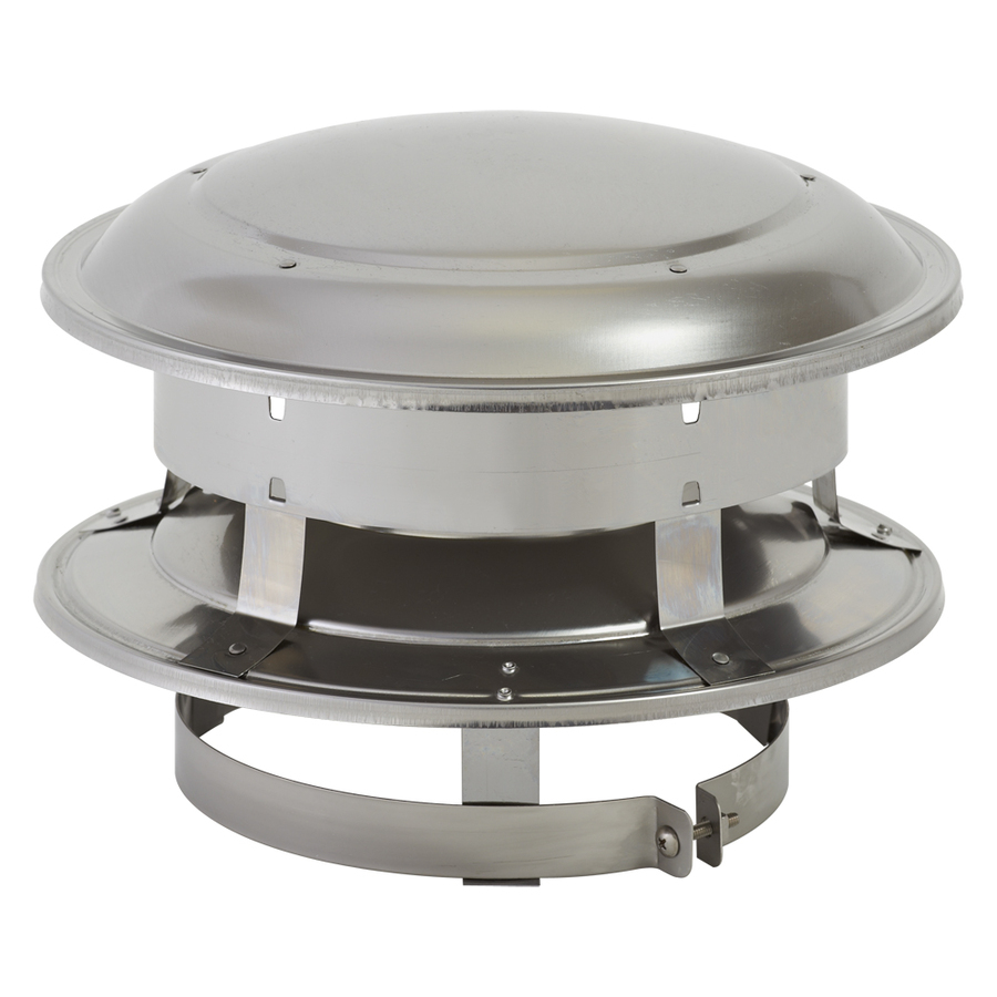 Shop Supervent Stainless Steel Chimney Top At Lowes Com