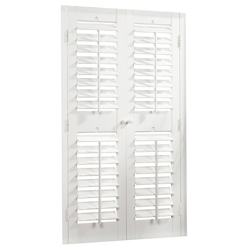 Allen Roth Faux Wood Plantation Shutters From Lowes
