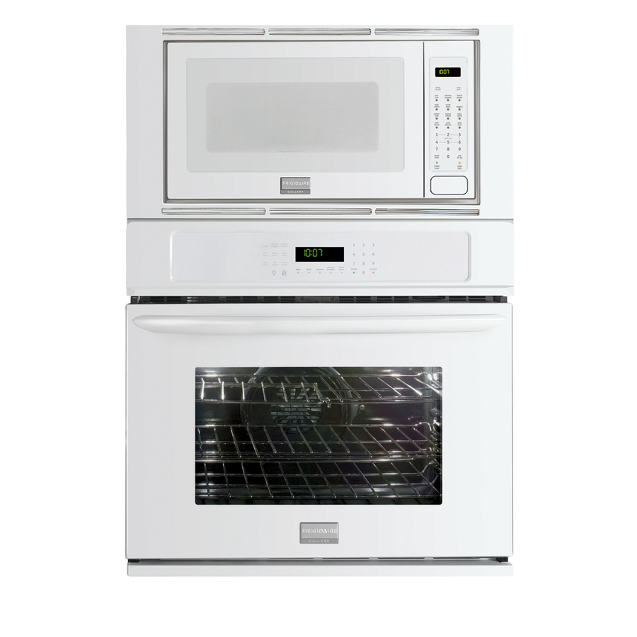 Wall Oven Microwave Combo White: Shop Frigidaire Gallery 27-in Self-Cleaning Microwave Wall