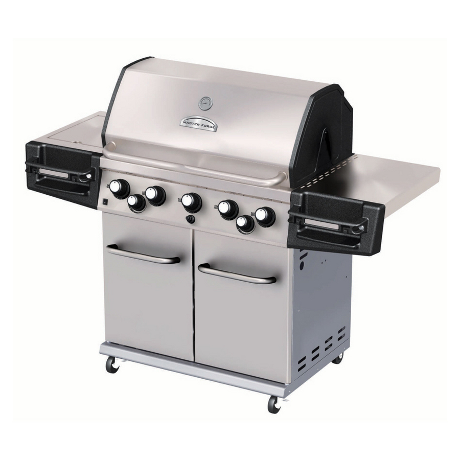 Master Forge 5-burner Gas Grill Pictures