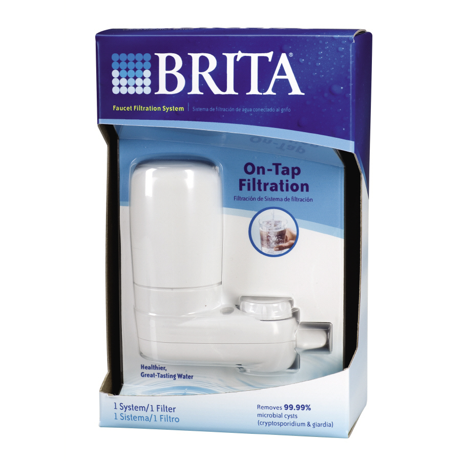 Shop Brita Faucet Mount Water Filtration System At Lowes Com