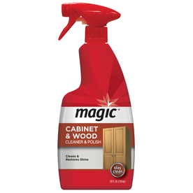 Magic Wood Cleaner and Polish - 24 Ounce - Use As Wood Furniture Cleaner, Wood Cabinet Degreaser, Wood Table Restorer, Wood Conditioner and Polish