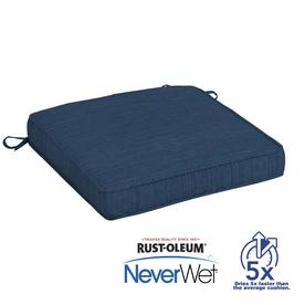 allen + roth Neverwet 1-Piece Navy Seat Pad FG0L955A