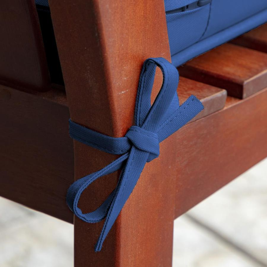 Arden Selections Profoam Lapis Patio Bench Cushion In The Patio Furniture Cushions Department At Lowes Com