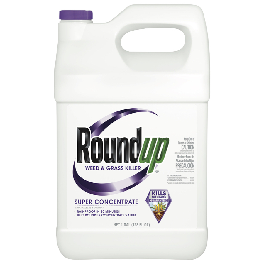 Roundup Super 1-Gallon Concentrated Weed And Grass Killer 5004210