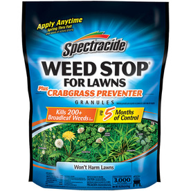 Spectracide Weed Stop for Lawns 10 Pound(S) Weed Killer Plus Crabgrass Control HG-75832