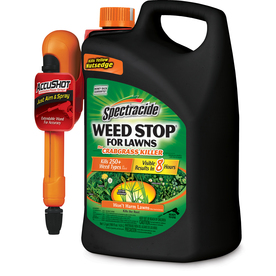 Spectracide Weed Stop For Lawns 1.3-Gallon Weed Killer Plus Crabgrass Control HG-96418