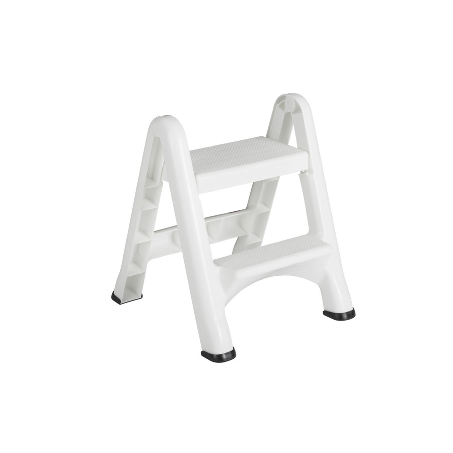Shop Rubbermaid 2 Step Plastic Step Stool At Lowes Com