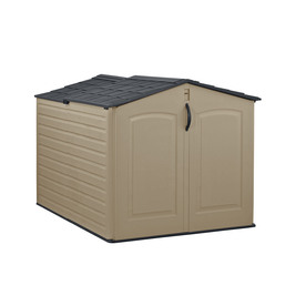 Shop Rubbermaid Roughneck Slide Lid Gable Storage Shed