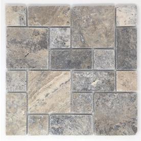 Upc 072222550502 Avenzo Silver Natural Stone Mosaic