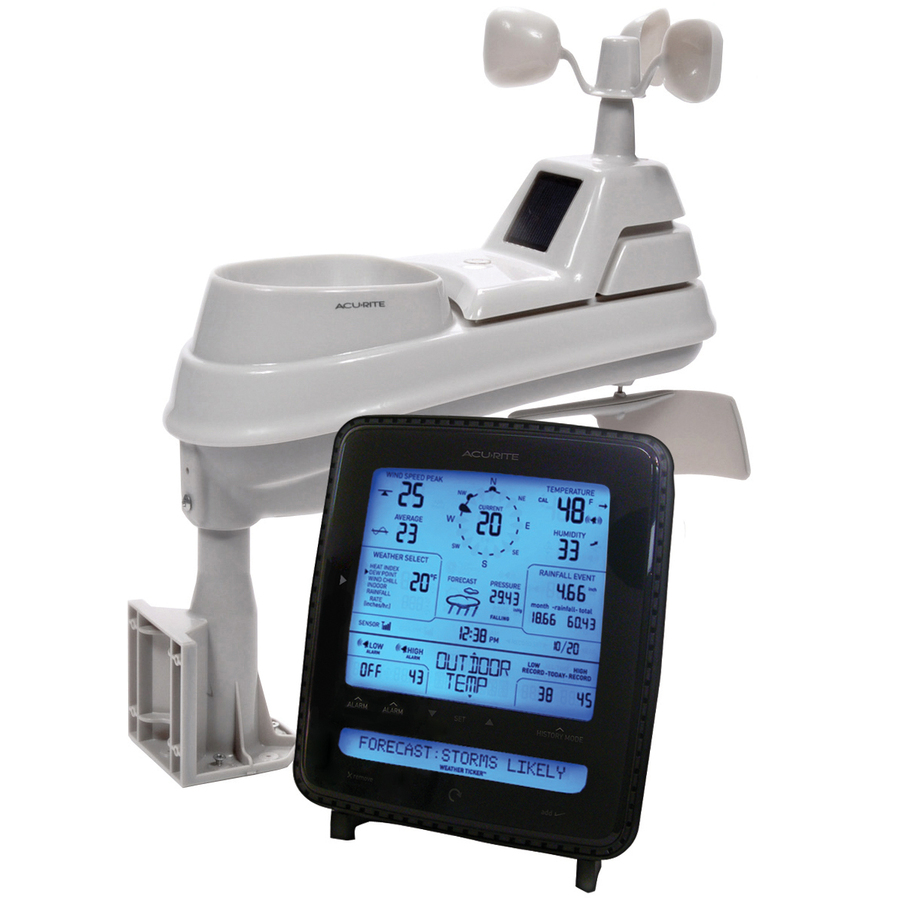 Shop AcuRite Digital Weather Station with Clock and ...