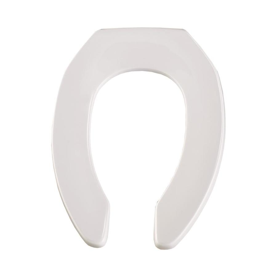 Shop Church White Plastic Elongated Toilet Seat At Lowes Com