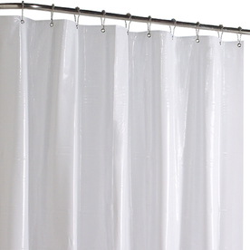 Display Product Reviews For Vinyl White Solid Shower Liner 72 In X