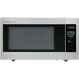 Sharp 1.8-Cu Ft 1100-Watt Countertop Microwave (Stainless...