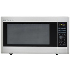Sharp 2.2-Cu Ft 1,200-Watt Countertop Microwave (Stainles...