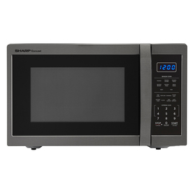 Display Product Reviews For 1 4 Cu Ft 1100 Watt Countertop Microwave Black Stainless