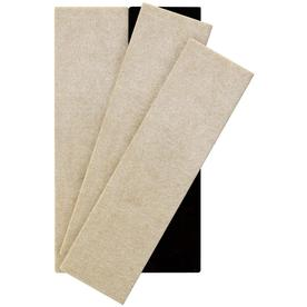 Waxman 4 Pack 2 1/2 In X 9 Rectangle Reusable Felt