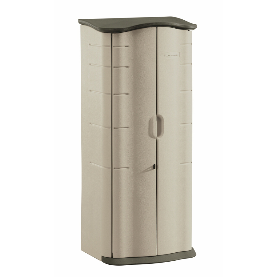 Shop Rubbermaid 174 Vertical Storage Shed At Lowes Com