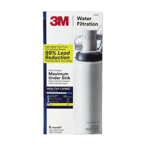 3m Single Stage Under Sink Water Filtration System 3us Max