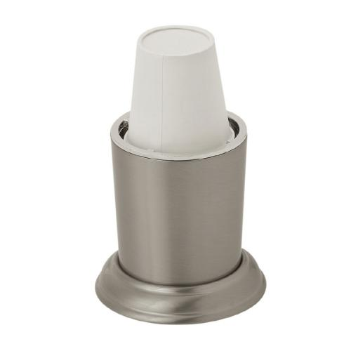 Brushed Nickel Dixie Cup Dispenser
