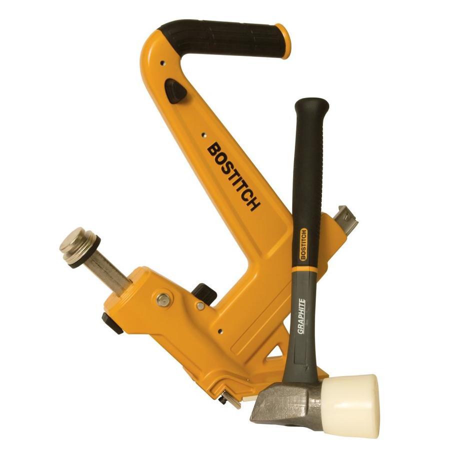Shop STANLEY-BOSTITCH Manual Hardwood Flooring Nailer At