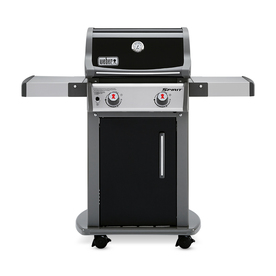 Weber Spirit E-210 Black Porcelain Enamel 2-Burner Liquid...