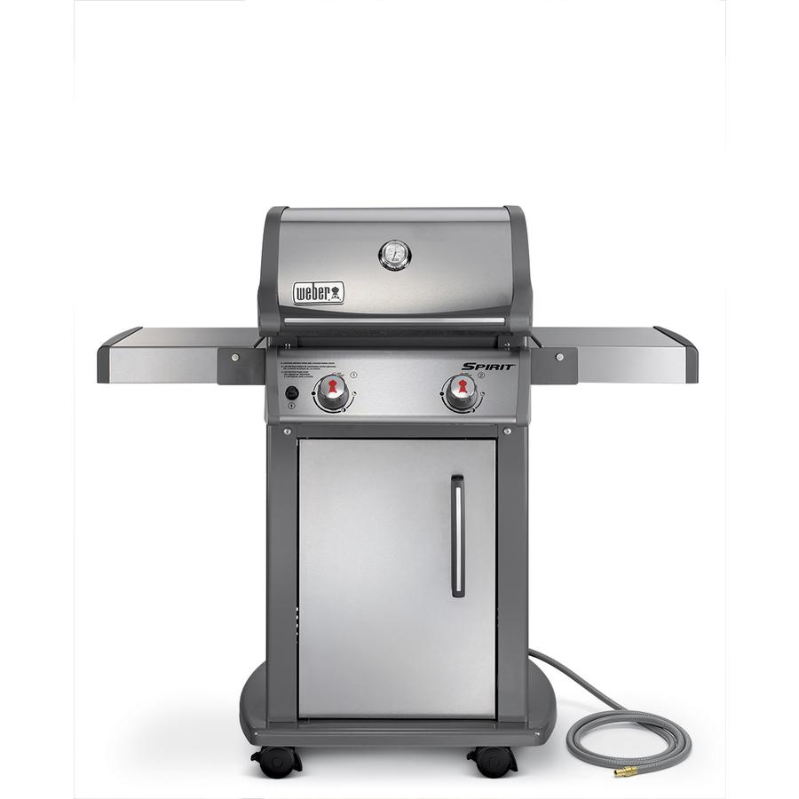 Shop Weber Spirit S-210 Stainless Steel 2-Burner (26500